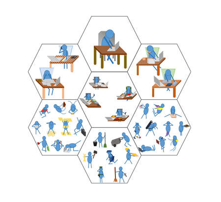 hierarchy: business hierarchy Illustration