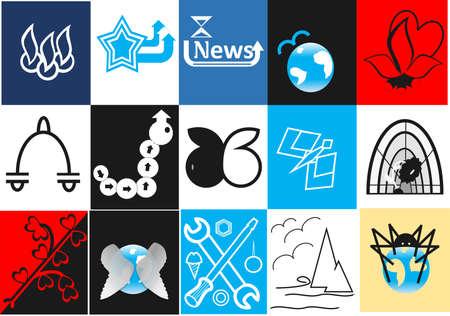 marcas comerciales Ilustración de vector