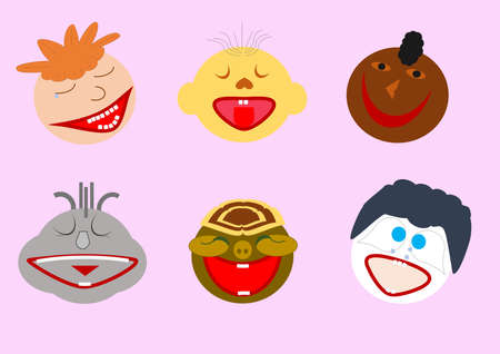 smileys: smileys Illustration