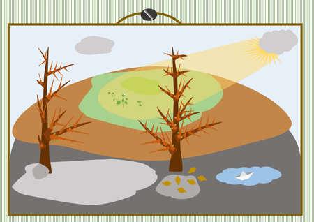 beginnings: spring Illustration