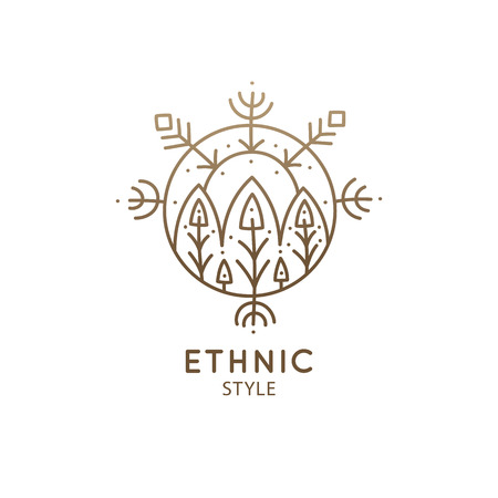 Sacred geometric symbol.