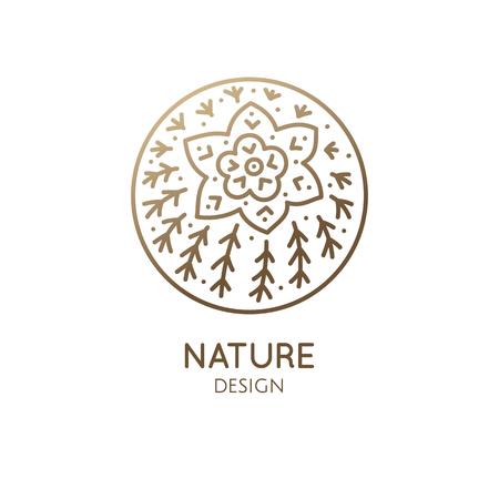 Cactus logo template