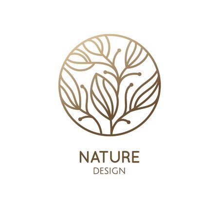 Tropical plant logo Logo