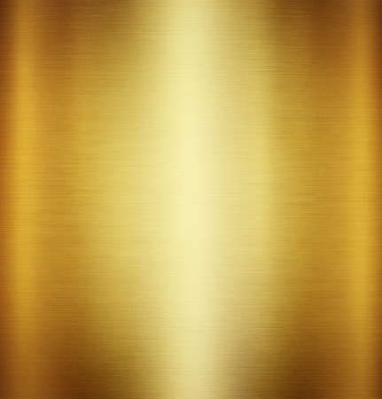 Gold polished metal texture or abstract stainless steel background.
