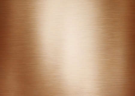 Gold or brass brushed metal background or texture Banque d'images