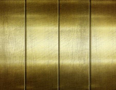 Gold polished metal texture, steel background for design 3d illustration. Stok Fotoğraf