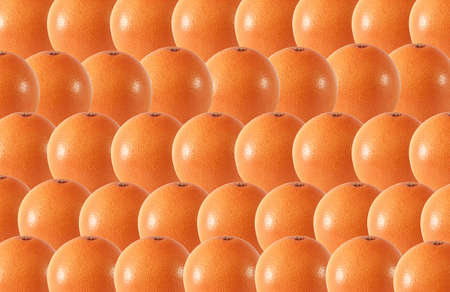 whole grapefruit fruits abstract seamless pattern background Stock Photo