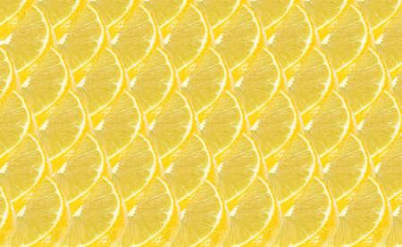 lemon fruits slice abstract seamless pattern background
