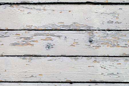 Background boards wooden painted with white paint old
