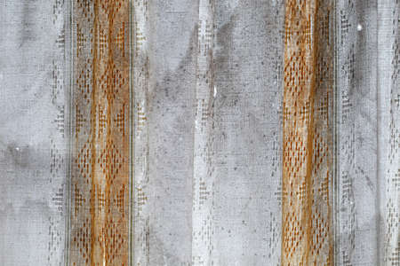 Window curtain is rag old torn dirty 版權商用圖片