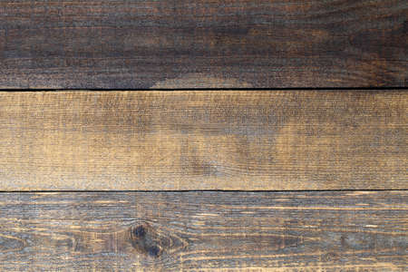 Background of rough wooden boards of the old horizontal