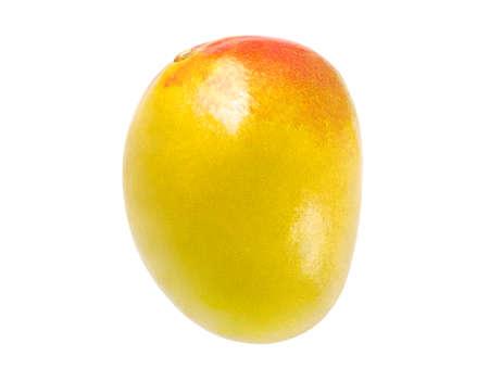 Mango whole one, isolated on white background