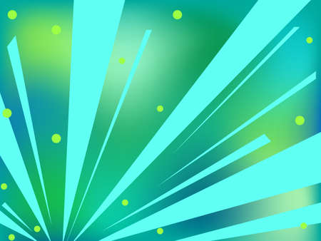 Abstract background in shades of blue and green Vector
