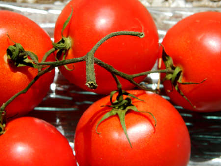 lycopene: Red tomatoes ,vegetables rich in antioxidants