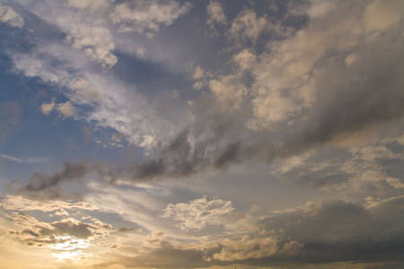 Sunset sky Heaven Beauty Religious Concept Background