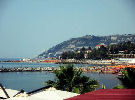 seaa: Beaches - Italy Stock Photo