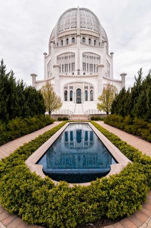 the house of worship: Baha i House of Worship, Chicago