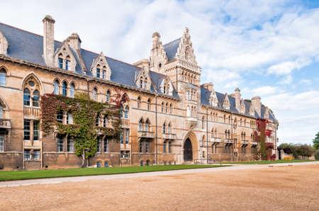 university life: Christ Church Oxford University, The Meadow Building