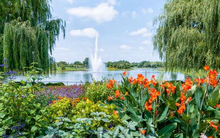 Chicago Botanic Garden 版權商用圖片 - 31034898