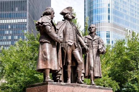 robert: George Washington, Robert Morris, Haym Salomon Memorial, Chicago