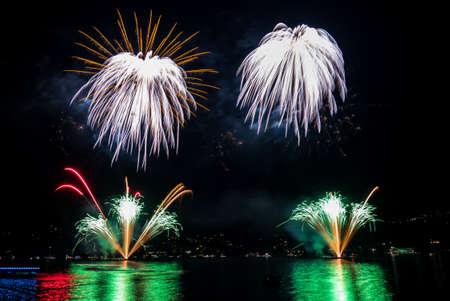 multiple: Multiple fireworks