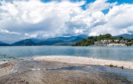 Lake Maggiore from Laveno Mombello, Italy