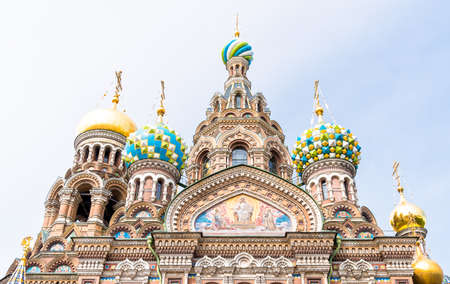 dome building: blood, church, savior, spilled, saint, cathedral, religion, christ, orthodox, resurrection, temple, christianity, dome, architecture, building, gold, historical, old, outdoor, mosaic