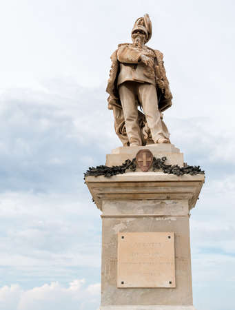 ii: Victor Emmanuel II Monument in Trapani, Italy