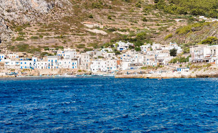 levanzo: Levanzo island in the Mediterranean sea west of Sicily, Italy