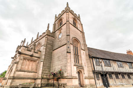 Guild Chapel of the Holy Cross, is one of Stratford-Upon-Avon most important historic buildings, United Kingdom Stock Photo