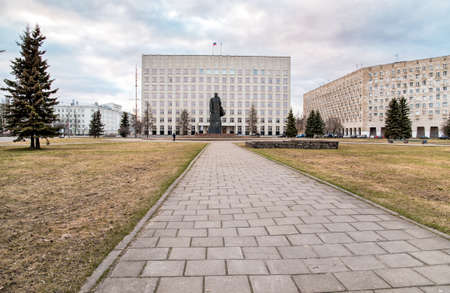 Lenin Square is the central and largest square of Arkhangelsk, Russia