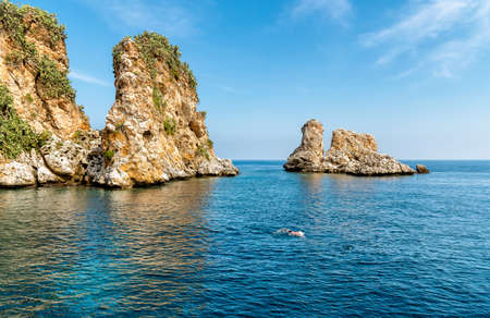 Scopello at Zingaro Nature Reserve, Sicily, Italy