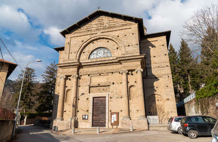 Parish Church of Saint Mary of the Angels in village Rasa, fraction of the municipality of Varese in Lombardy, Italy