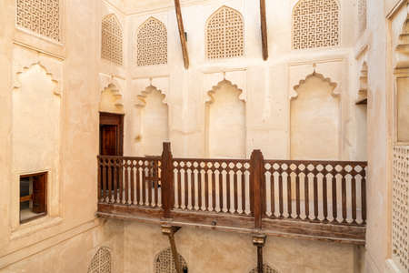 View inside the Jabreen Castle in Bahla, Sultanate of Oman Editorial