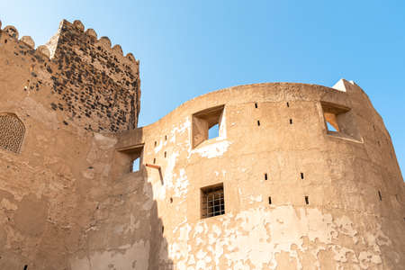 View of the Jabreen Castle in Bahla, Sultanate of Oman
