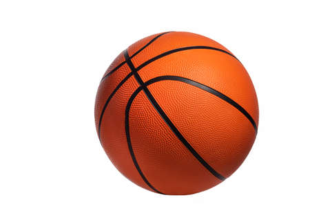 Basketball isolated on white background. Orange Ball. Sports concept. Standard-Bild