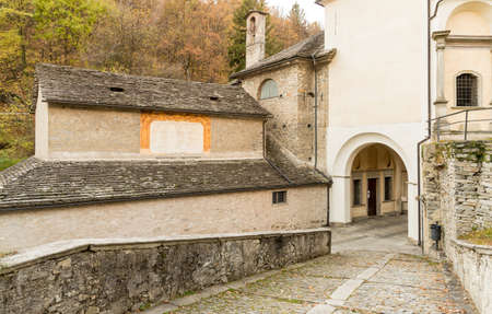 Sacred Mount Calvary of Domodossola, is a Roman Catholic sanctuary on the Mattarella Hill, Piedmont, Italy