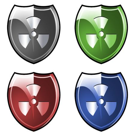 Shield. Armor. Radiation! Stock Photo - 2796149