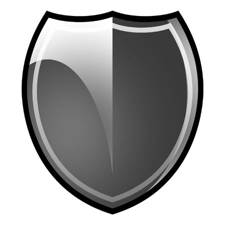 safeness: Shield. Armor. Stock Photo