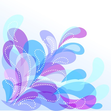 Abstract decorative water background with a place for your text Stock Vector - 13353994