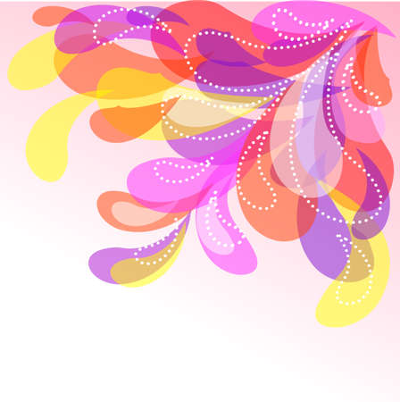 ight: Abstract decorative background with a place for your text