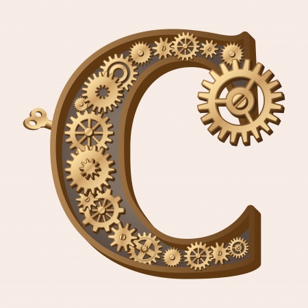 clockwork: Mechanical alphabet