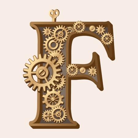precision: Mechanical alphabet