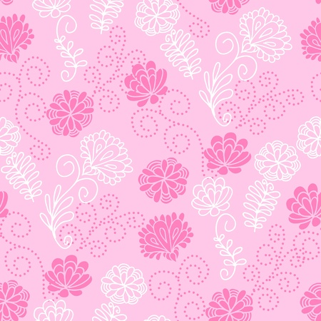 Seamless floral pattern Stock Vector - 14935812