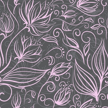 Seamless floral pattern Stock Vector - 17374395