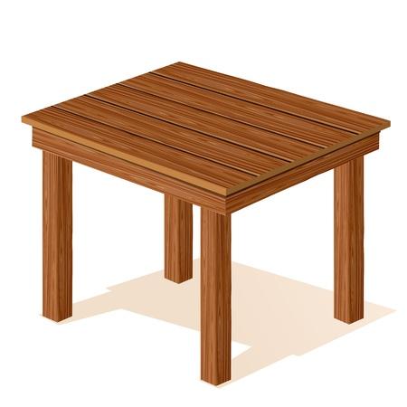 Holztisch