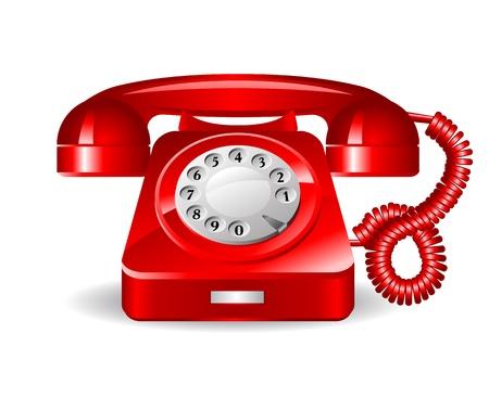 bakelite: Retro rad telephone