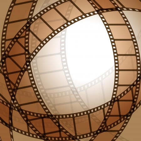 projections: Film strip Illustration