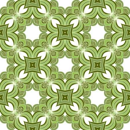 Ornamental seamless lace pattern in vintage style Vector