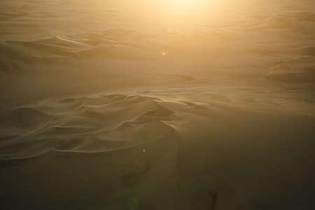 desert sand: Aerial of sand dunes in bolivia